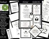 Delux Claddagh Wedding Invitation Kit on CD