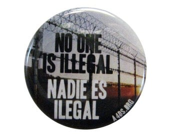 Border Fence Button