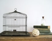 RESERVED LAY-AWAY  Antique Hendryx Birdcage Brass