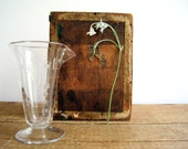 Antique Apothecary Lab Beaker / Vintage Labware Industrial Home