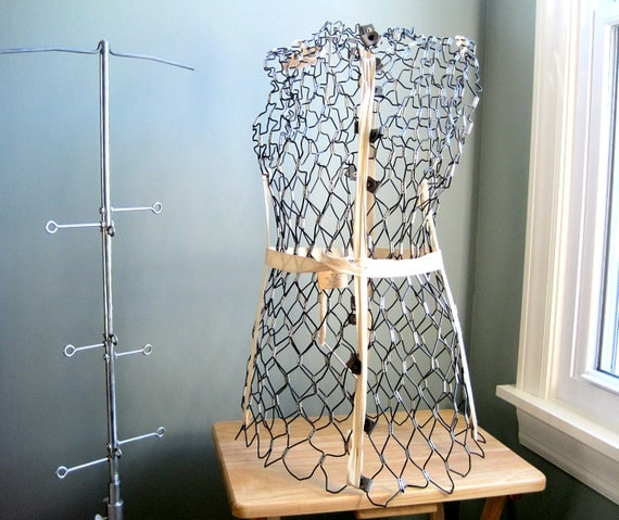 Wire Dress Form Dritz My Double Mannequin & Stand