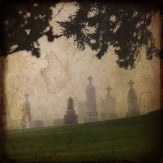 Cemetery photograph, home decor, Limited Edition - 9/50