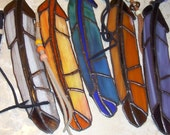 Feather,  Stained Glass, One Feather of your choice .