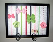 Custom Bow and Clip Display