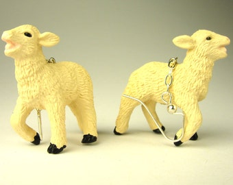 Lamb Earrings