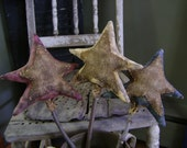 Primitive Americana Summer Star Sticks.  WOW