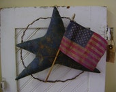 Primitive Summer Wire Star Wreath. Awesome
