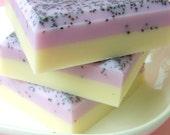 Soap. Gift for Mom. Mom Birthday Gift. STRAWBERRY BANANA MILKSHAKE Soap, Strawberries, Bananas, Natural Soap, Pastel, Gifts for Her, 3625