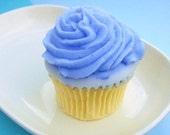 Teacher Gift. Cupcake Soap. Birthday Favor. Birthday Gift. Gift for Her, Blueberry Cupcake Soap, Realistic, Sweet Treat, Cupcake Favors