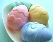 Sale Soap. Easter Eggs SOAP, Gift for Her, Easter gift, Giant Easter Eggs, Easter Basket, Spring floral scents, Gift for Mom, Mom Gift, Aunt