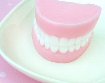 Soap. Fun Gifts. Denture Teeth Soap, Funny Gag Gifts, Denture Soaps, Bubble Gum, Novelty Gag Gifts, Geek Gifts, Silly, Dad Gifts, SBG