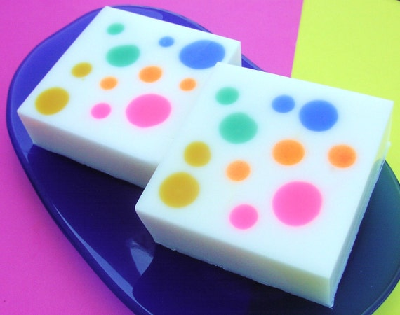 Soap - Goodie Goodie Gumdrop Soap - Rainbow Polka Dots - NEW