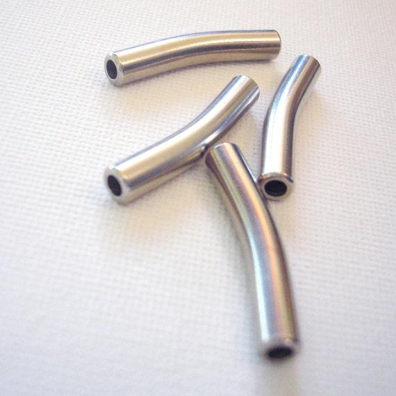 Metal Beads Tube Spacers (4)