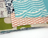 mixed Trimmings organic printed fabric by Umbrella Prints