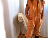 RESERVED for ANA Bon Jour Peach jumpsuit - HOT