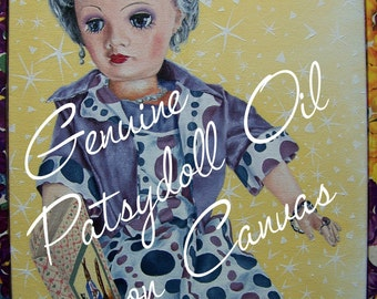 Estelle Oil Painting by Patsydoll