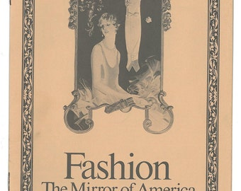 "Vintage ""Fashion - The Mirror of America"" Booklet Produced by the Arrow Company"