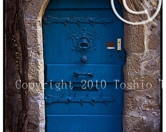 Blue Door, Houte-ville, France