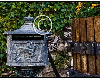 Old Mailbox in Seguret, France