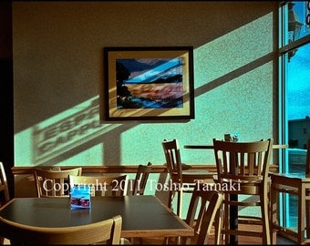 Lonely Lunch in a Restaurant