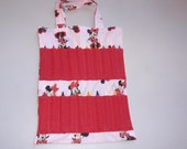 SALE Minnie Mouse Crayon Tote Bag
