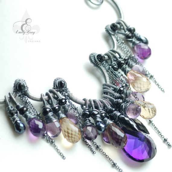 The PASSIFLORA INCARNATA Necklace oOo RESERVED oOo