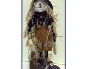 Benjamin Scarecrow Country Art Doll