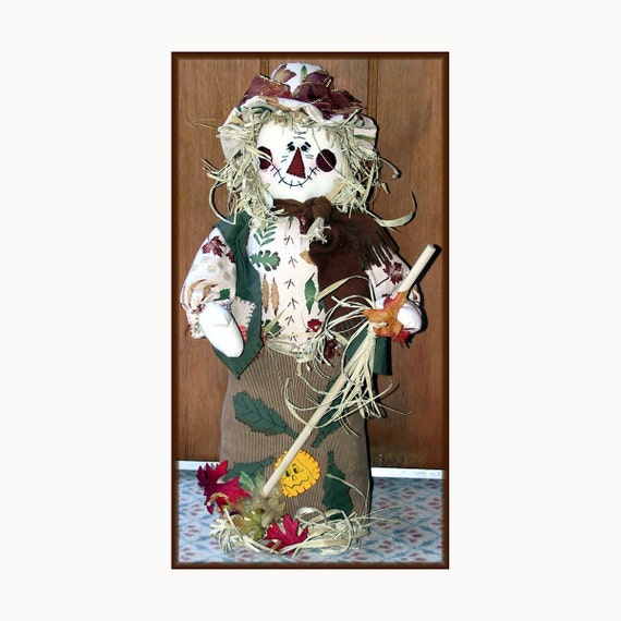 Scarecrow Rob Country Doll Decoration