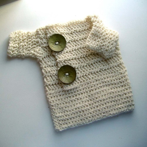 Oliver - 12 month pullover sweater with buttons