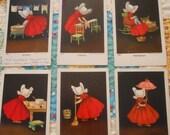 Sunbonnet Babies antique postcards REDUCED 10 dollars more