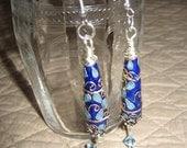 Cloisonne Dangle Earrings