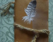 Art Journal Feather Cover