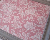 Pink and Gray Shabby Chic Magnetic Board