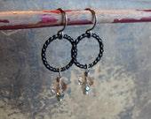 Halo Glass Earrings