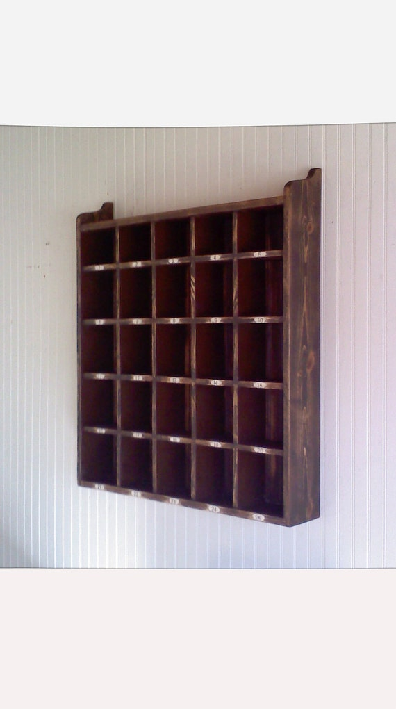 Items similar to wooden hotel room key holder letter box cubicles on etsy - Wooden letter and key holder ...