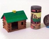Log Cabin Toy KIT Dollhouse Miniature