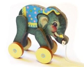 Baby Elephant Toy KIT Dollhouse Miniature