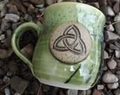 Irish Moss Celt Mug