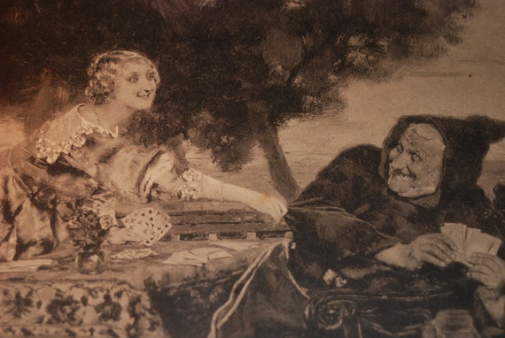 Scarce Antonio Salvador Casanova y Estorach (1847-1896) Print