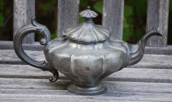 Reserved for Kenneth - 1787 English Teapot by James Vickers 5 Cup
