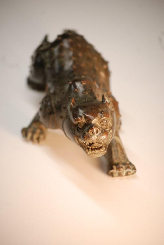 Reserved Mulligan 1962 - 1910 Menacing Chinese Bronze Tiger