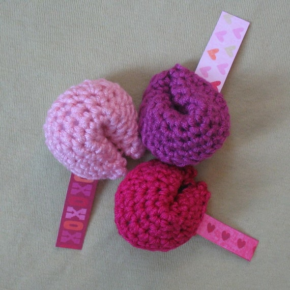 Fortune Cookies PDF PATTERN Handmade Luxury Fiber Amigurumis & Patterns