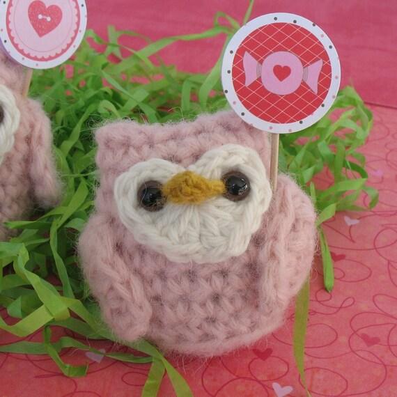 Pink Owlet (ONE OWLET) Handmade Luxury Fiber Amigurumis & Patterns
