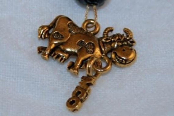 Moo'ing Keychain