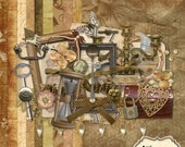 Attic Treasures - Digital Scrapbook Kit