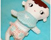 Handmade Cloth BABY DOLL --Boy