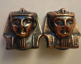 Pharoah Pharoah Earrings in Copper Clip Type