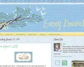 Custom Deluxe Blog Template