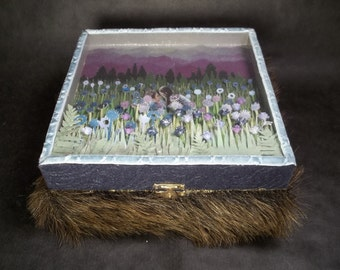 Jewelry Box -- Twilight theme -- Keepsake -- Treasure box