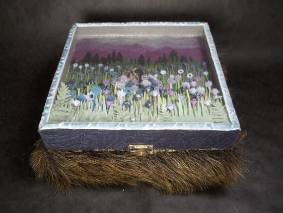 Jewelry Box -- Twilight theme -- Keepsake -- Treasure box